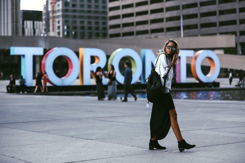 Bench #LOVEMYHOOD Toronto City Guide