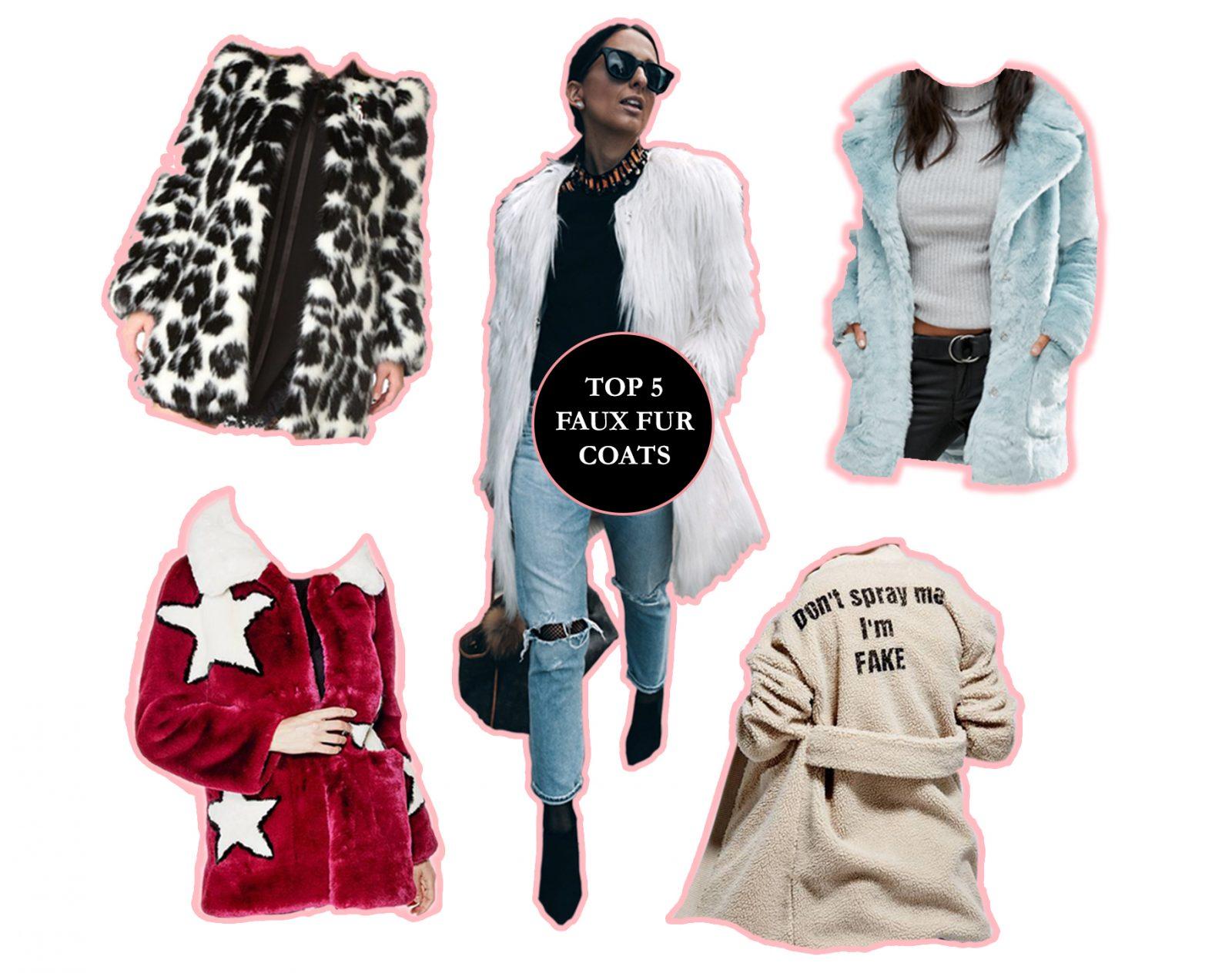My Favourite Faux Fur Coats!